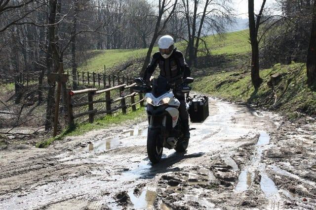 Anlas Capra RD 190 post sul fango. Meglio non esagerare...