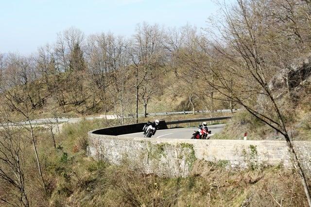 Circuito stradale del Mugello, la parte che sale sul Passo del Giogo, teatro della carneficina dei soldati americani durante la seconda guerra mondiale.