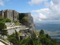 Erice: il Castello normanno di Venere