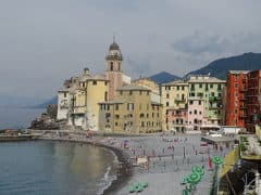 Camogli: la Basilica dell'Assunta