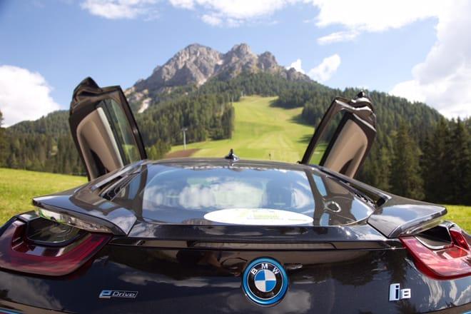 ECO Dolomites breve sosta al Passo Furcia