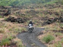 Etna in moto