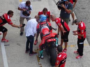 Race of Champions, Melandri