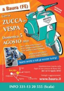 Zucca in Vespa