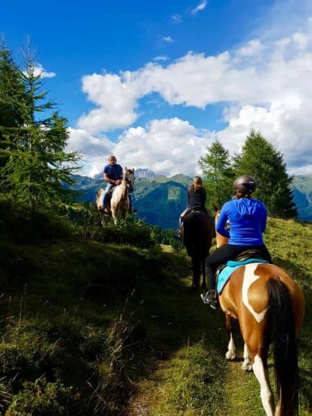Zoncolan Escursioni a cavallo