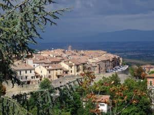Nuvoloni neri a Montepulciano