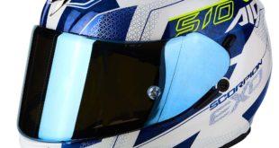 EXO 510 AIR GALVA Pearl White-Blue