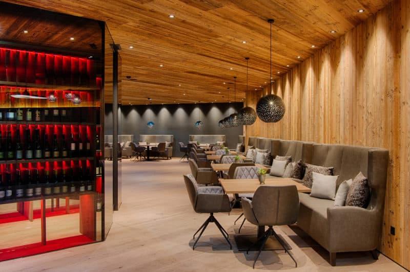 Weinschrank Bar Amonti a - A&L Wellnessresort