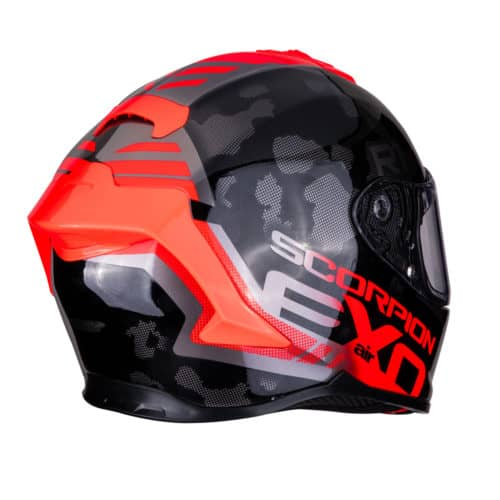 Scorpion Sports EXO-R1 AIR OGI Black-Red