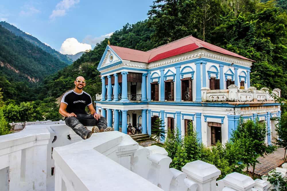 In moto in Nepal