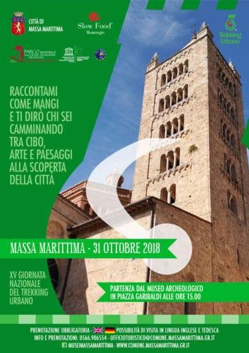 A Massa Marittima tra storia e sapori  il 31 ottobre Trekking Urbano 25f4fba5f8d