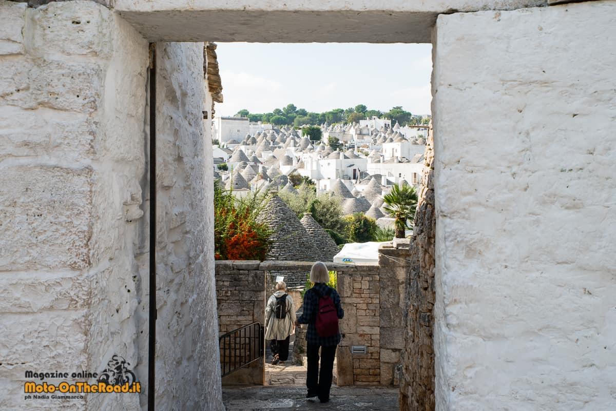 Vista sui trulli dal Rione Aia Piccola