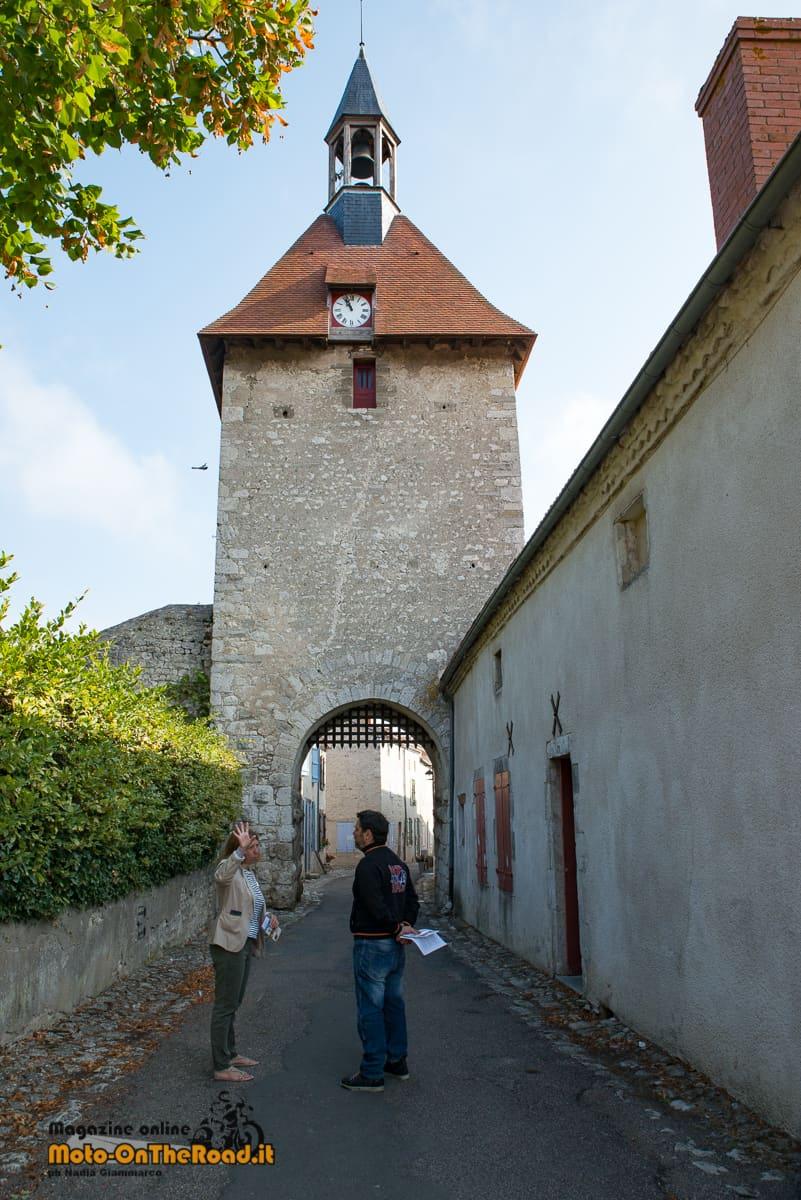 Torre dell'orologio - Charroux