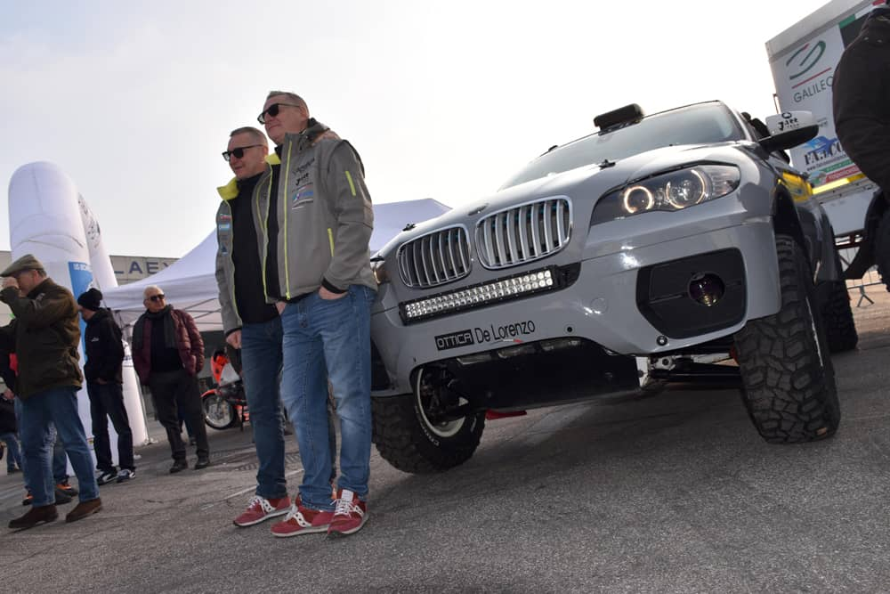 I Gemelli De Lorenzo all'anteprima a Verona della Africa Eco Race