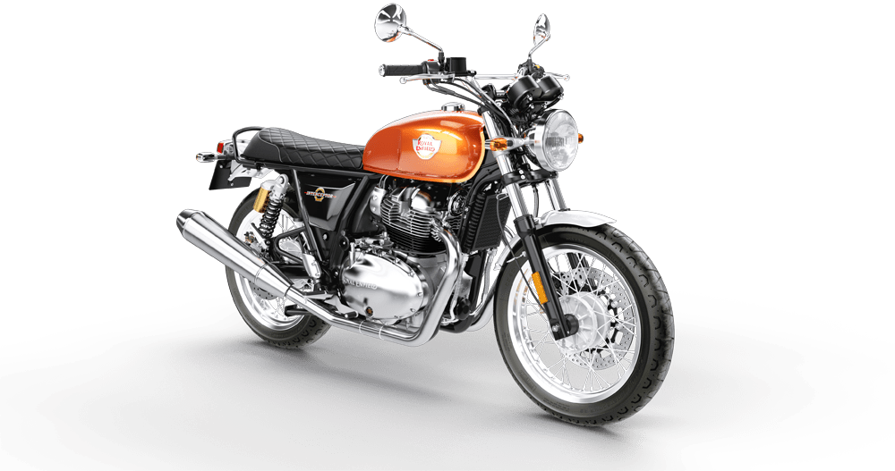 Interceptor INT 650 Orange Crush