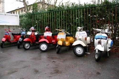 Cimento invernale del Vespista 2012 - Firenze | Vespa Club