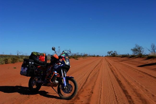 L'Australia in moto: Outobeck