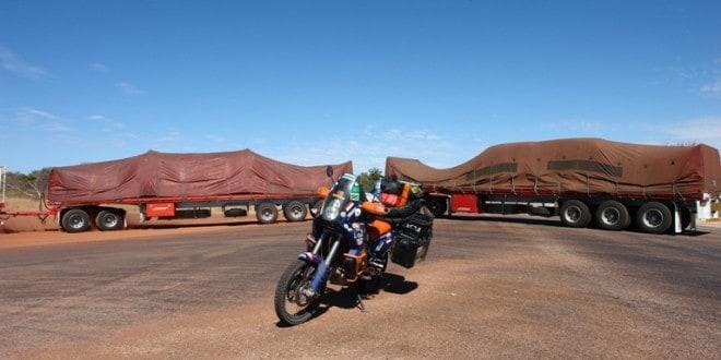 Australia in moto