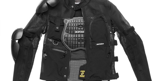 Estiva Multitech Evo Armor Moto Giacca Spidi Kc3ulF1J5T