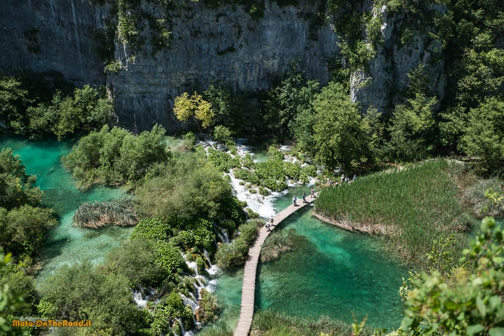 Croazia Continentale in moto. I laghi di Plitvice