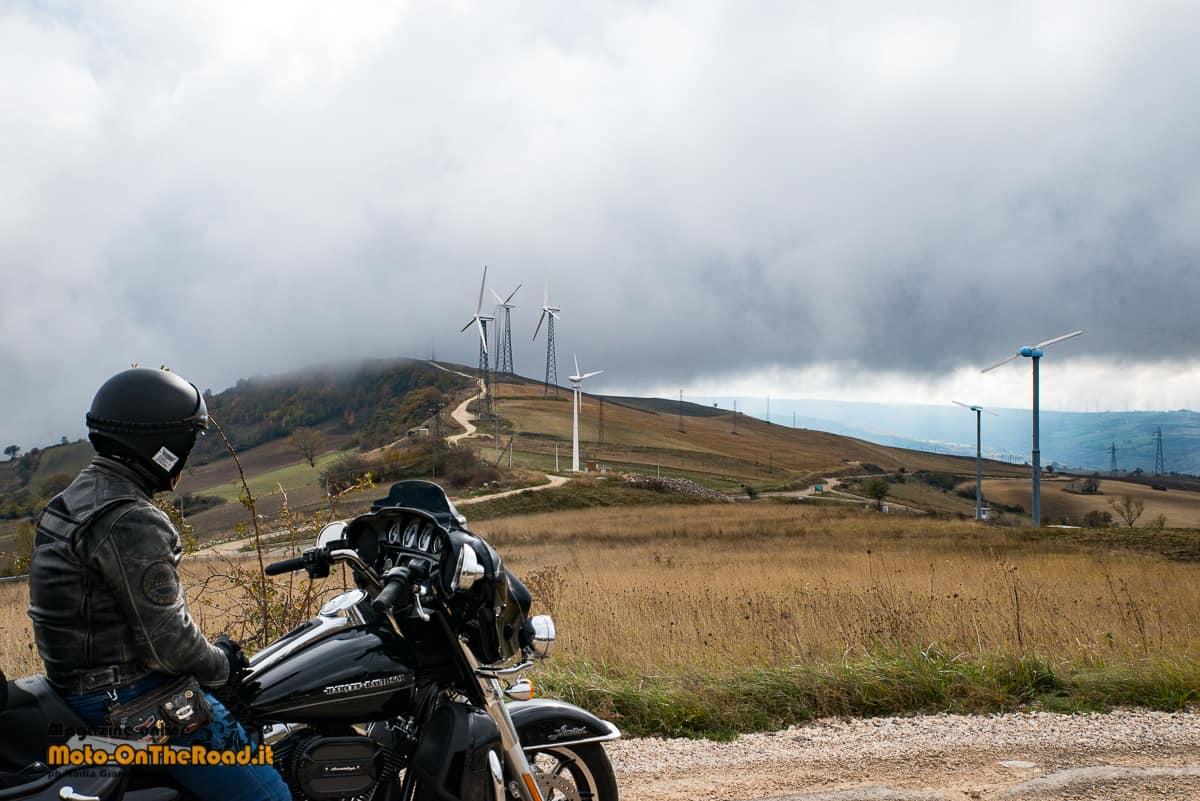 Monti Dauni in moto: viaggiare slow tra borghi e gusto