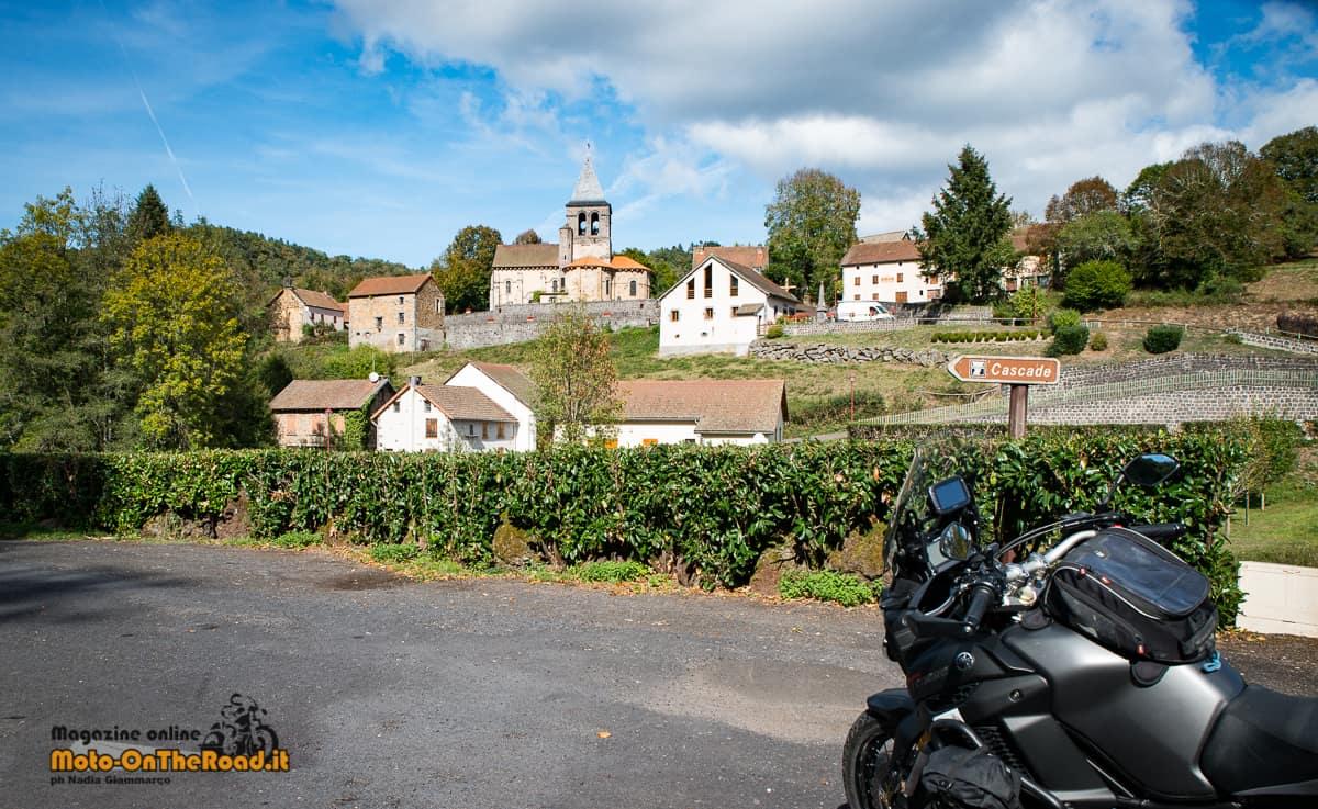 Ponte sul La Sioule Monfermy - Alvernia