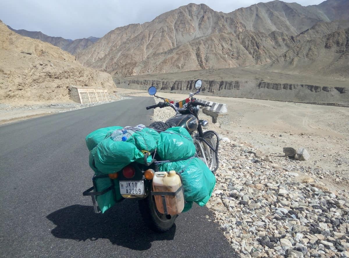 Ladakh in moto