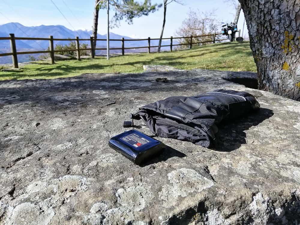 guanti riscaldati Keis X900 Dual Power