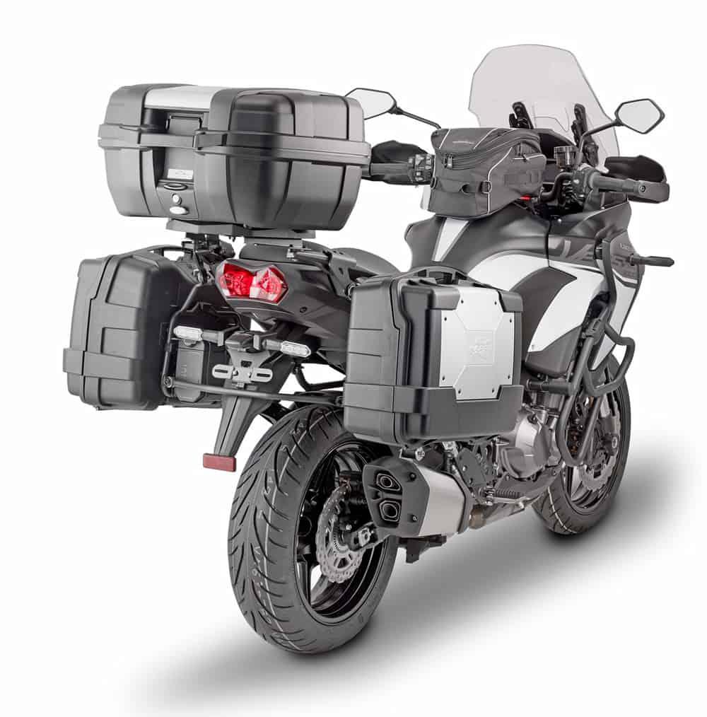 Kappa per Kawasaki Versys 1000, il kit completo per il modello nuovo