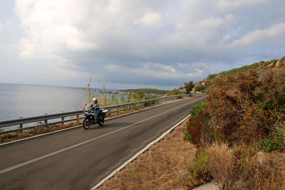 L' Anello occidentale dell'Isola d'Elba in motocicletta