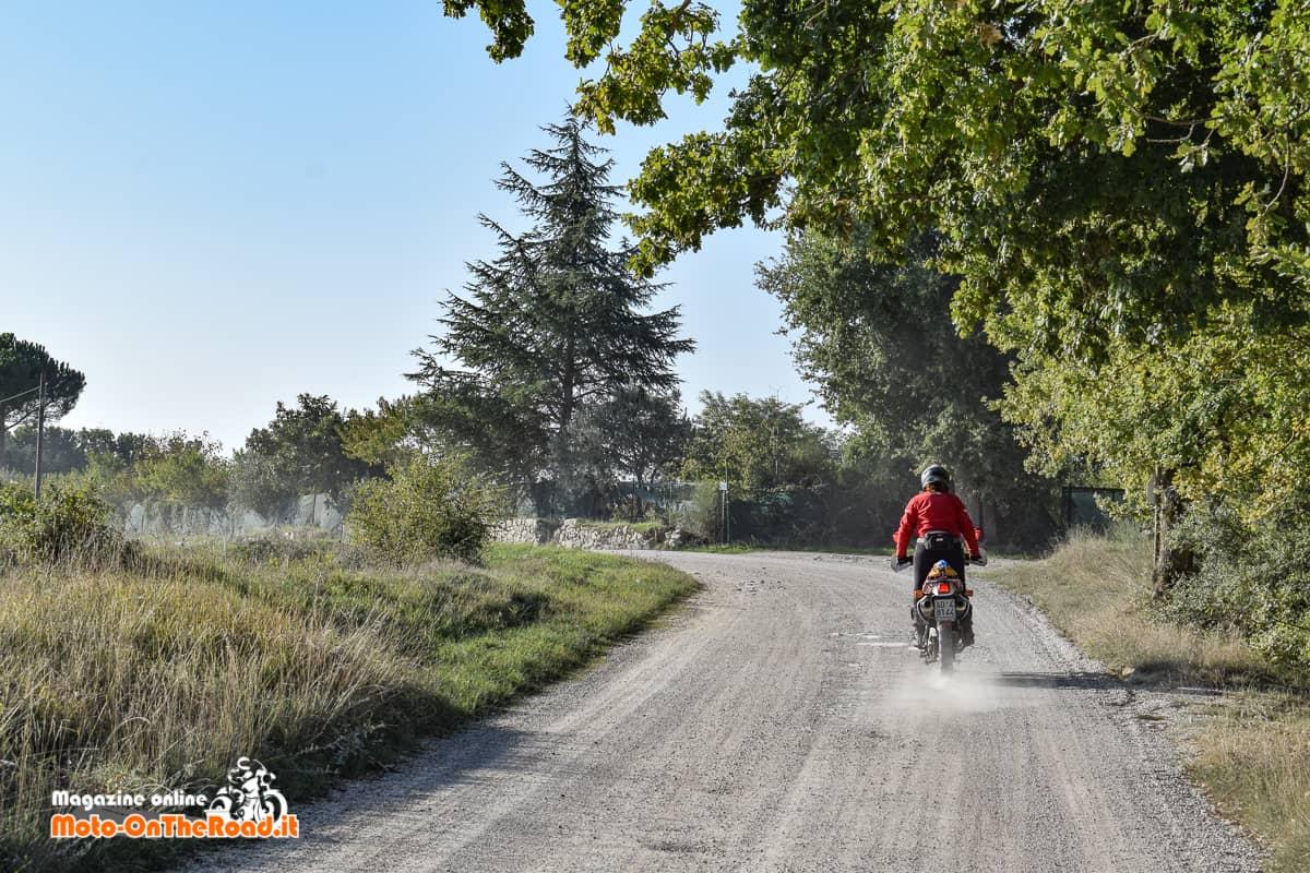 Alla conquista delle strade bianche del Chianti.