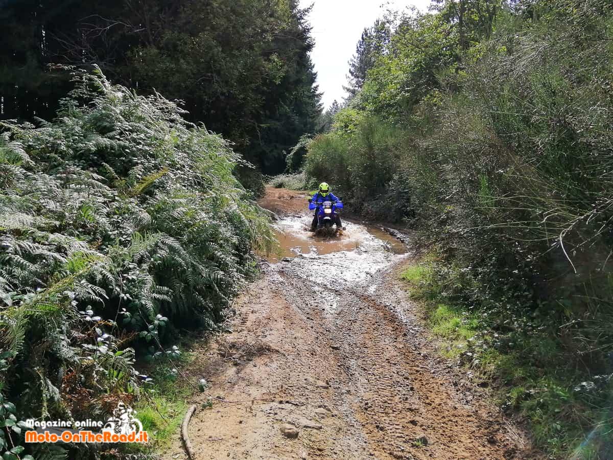 Pneumatici Mitas alla prova con il fango.