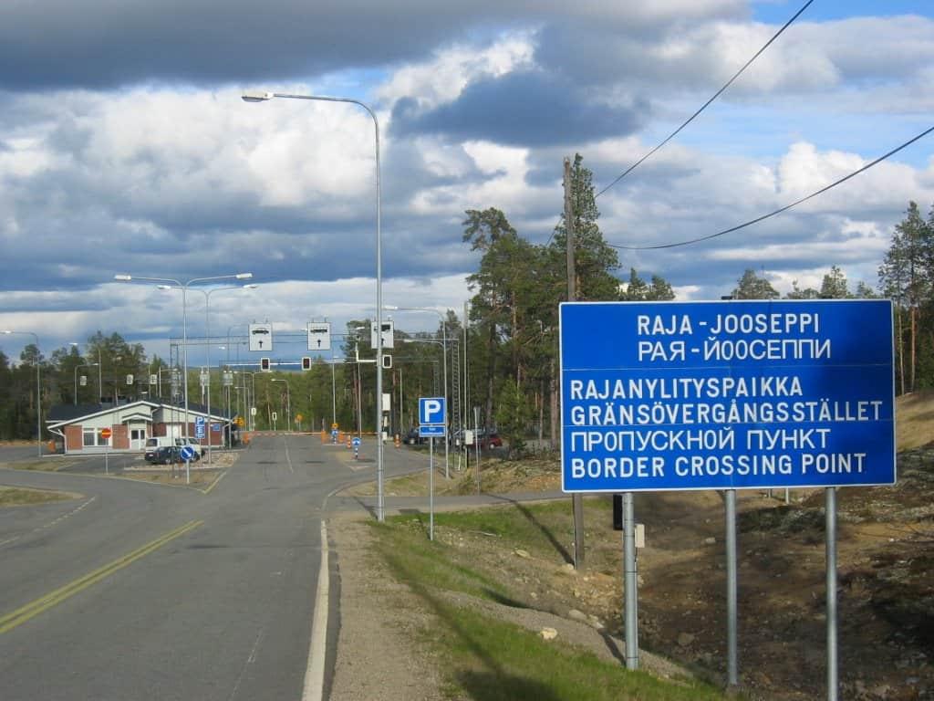 Raja-Jooseppi border