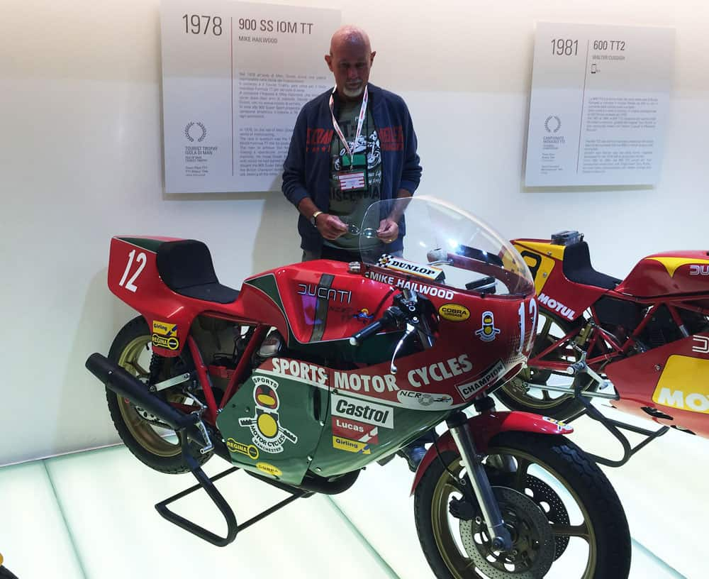 Mike Hailwood Ducati Museo