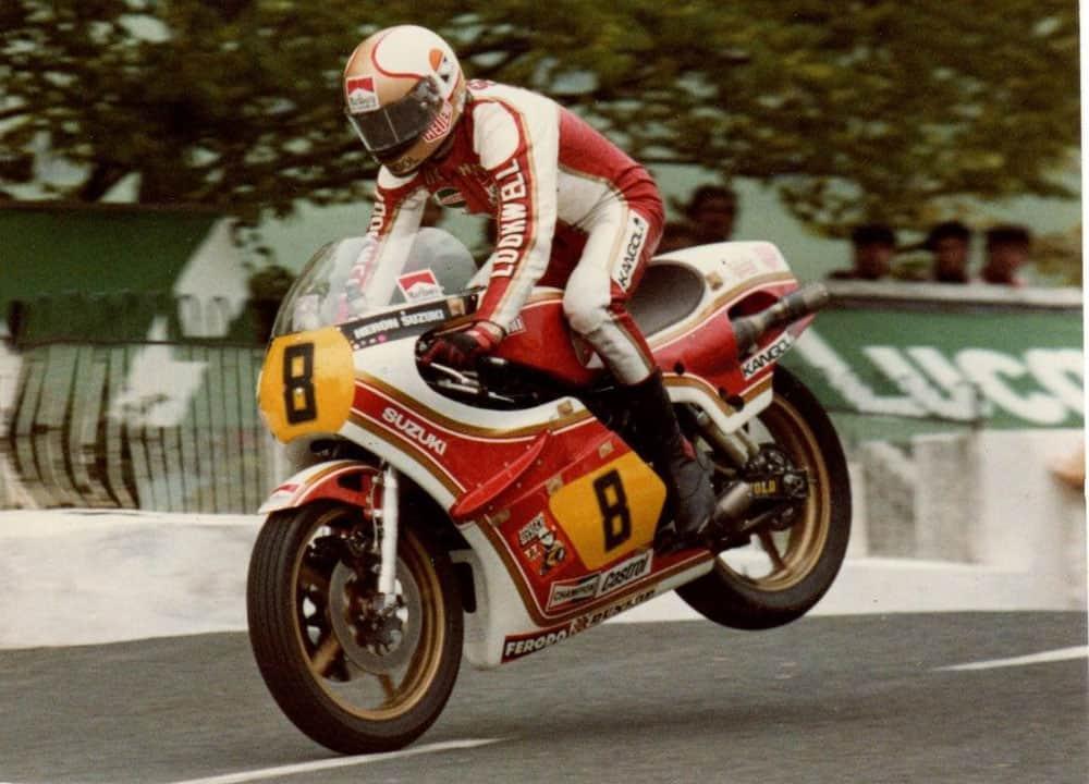 Mika Hailwood Suzuki 1979