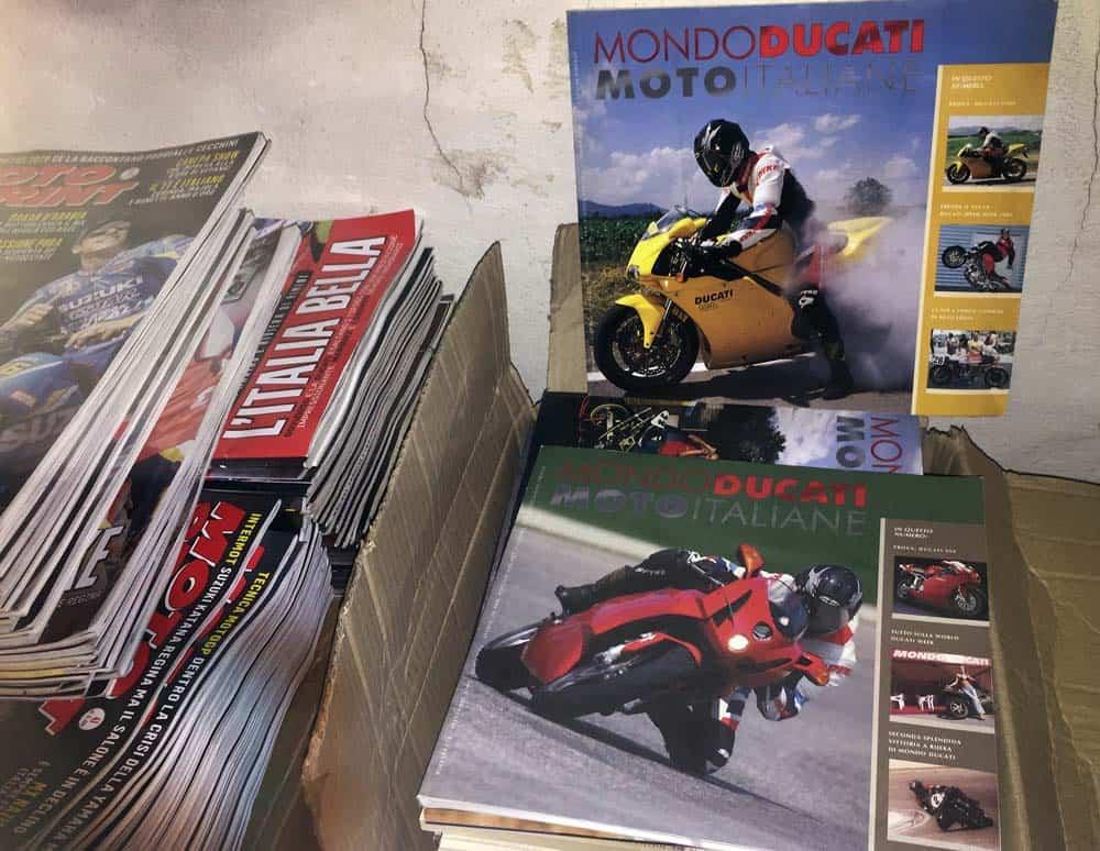 Il motociclista ai tempi del coronavirus: Mondo Ducati