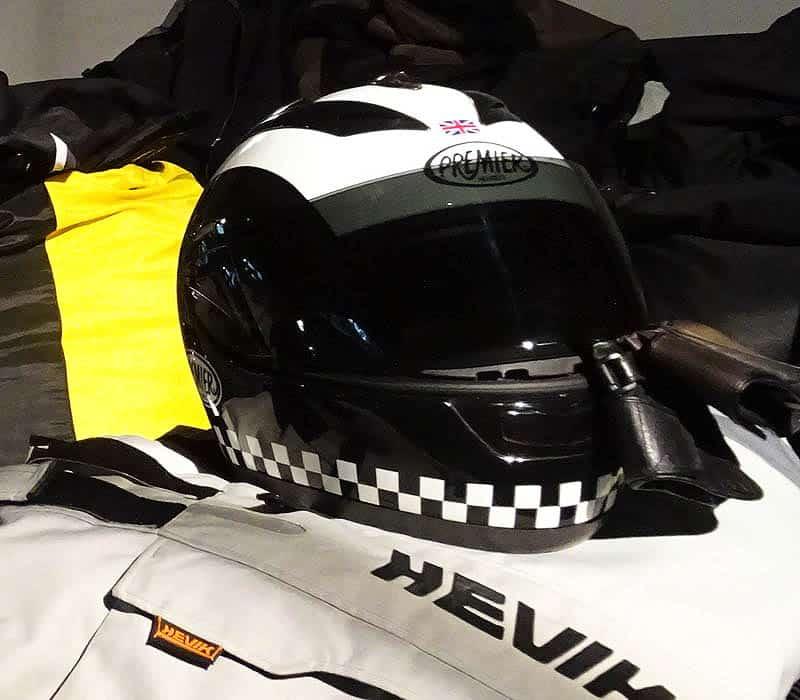 Phil Read helmet