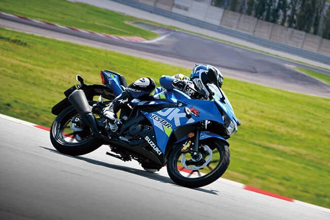 "Suzuki ""Don't stop your passion"" - GSX-R125"