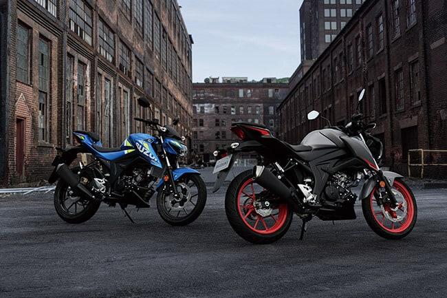 "Suzuki ""Don't stop your passion"" - GSX-S125"