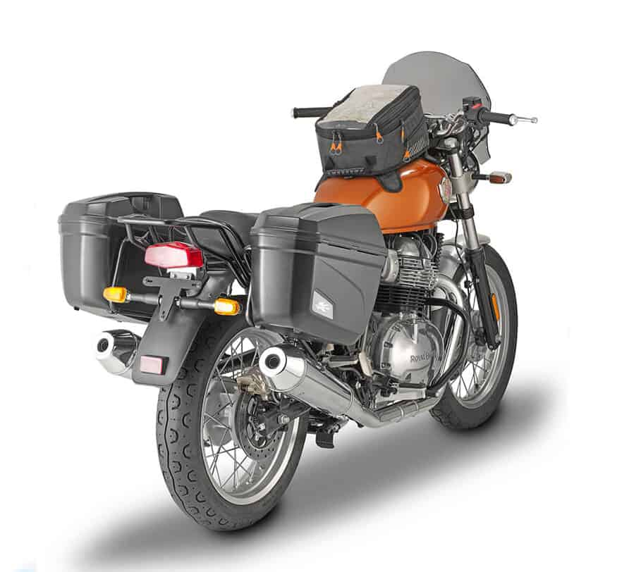 accessori Royal Enfield Interceptor 650, proposti da Kappa
