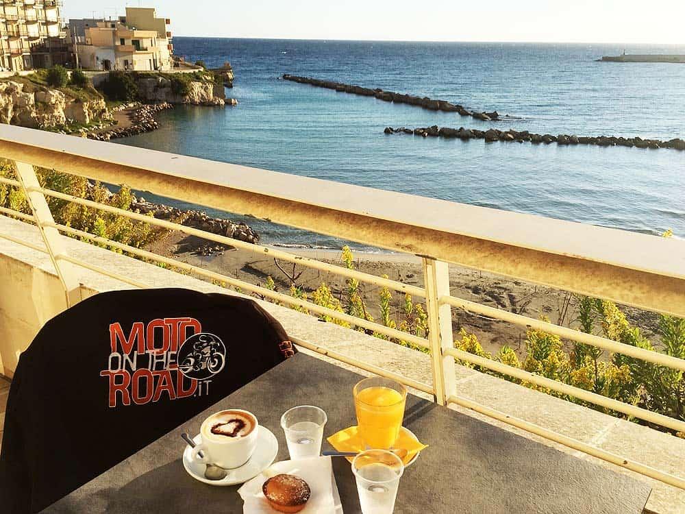 Colazione a Otranto