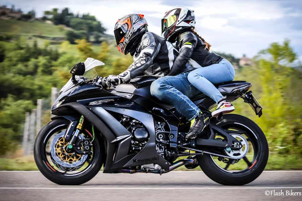 fotografare motociclisti con la ganza